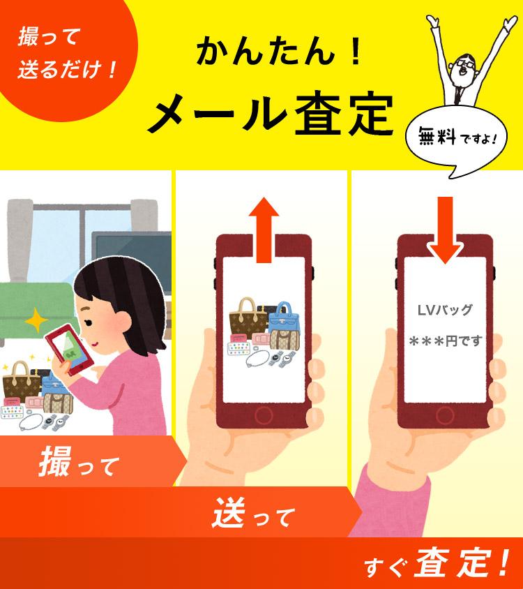カンタン!メール査定!(買取)