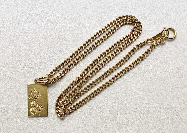 ネックレス K18 12.8g 買取63.411円
