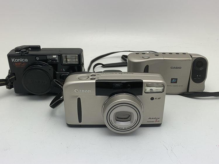 フィルムカメラ 3点 買取900円