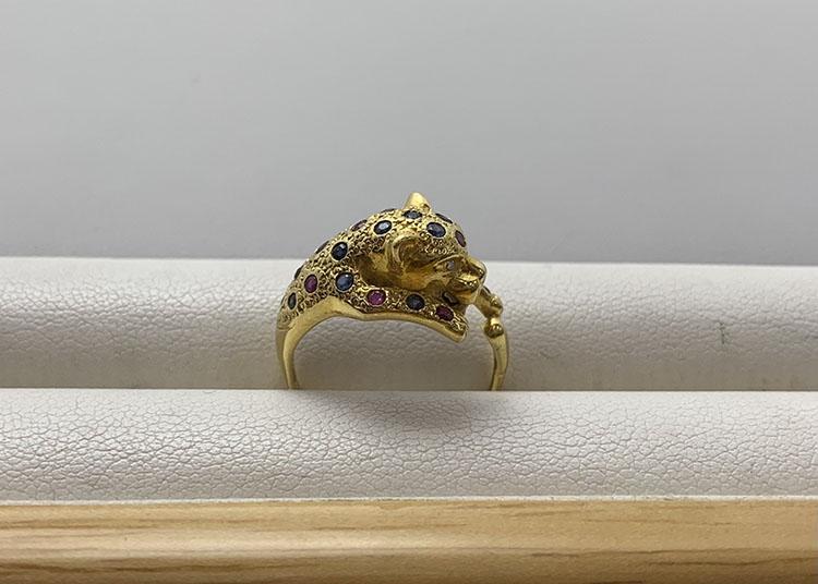 指輪 K18 S R FD 5.2g 買取25.000円