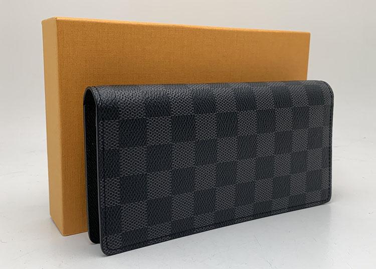財布 LV グラフィット N62665 ポルトフォイユブラザ 未使用 買取55.000円