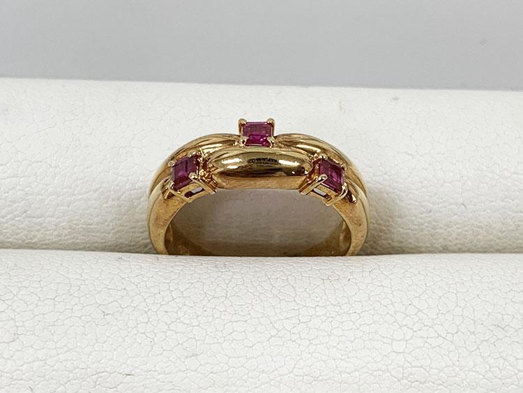 指輪 K18 R0.35