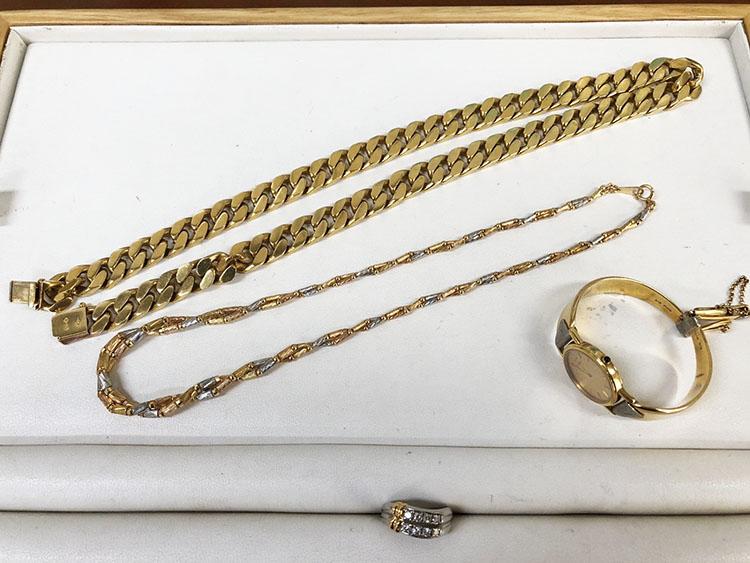 ネックレス K18 買取965.000円